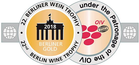 Vencedor de Ouro do Berliner Wein Trophy 2018